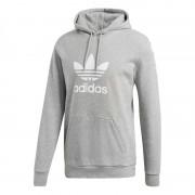 Adidas Trefoil Hoodie Ljusgrå Herr