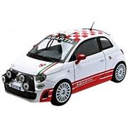 Motormax 73379w Fiat Abarth 500 R3T White 1-24 Diecast Car Model