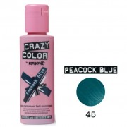 Peacock Blue 100ml - Vopsea Semipermanenta - Crazy Color