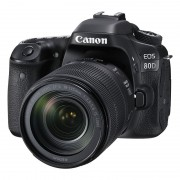 Canon EOS 80D DSLR + 18-135mm IS USM open-box