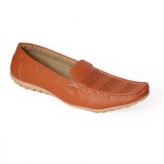 Stylos Mens Tan Loafer