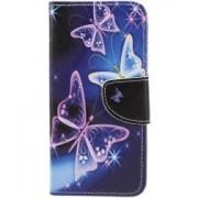 Huawei P Smart Portemonee Hoesje met Vlinders Print