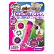 Proiector cai si ponei Brainstorm Toys, 24 imagini, Roz