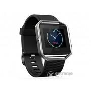 "Bratara fitness Fitbit Blaze EMEA [FB502SBKS-EU], ""S"", negru - argintiu"