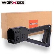 Worker Stock, PeleusTech Worker Stock Upgrade for Nerf Retaliator Stryfe N-Strike Elite Series - Black