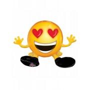 Vegaoo.es Globo aluminio emoticono ojos de corazón