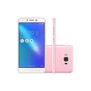 Smartphone Asus Zenfone 3 Max Dual Chip Android 6.0 Tela 5.5 32GB 4G/Wi-Fi Câmera 16MP - Rosa