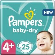 Pampers Baby-Dry - Maat 4+ (10-15kg) - 25 Luiers