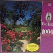 Big Ben 1000 Piece Puzzle Bellingrath Gardens Mobile, Al (1998) By Hasbro