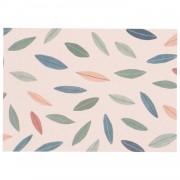 Dille&Kamille Carte, papier végétal, feuillage, 14,8 x 10,5 cm