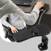 Armstöds platta för datormus med stolsfäste