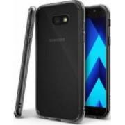 Husa Ringke Fusion Samsung Galaxy A7 2017 A720 Smoke black + BONUS folie protectie display Ringke