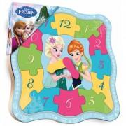 Puzzle ceas Frozen-A BRIMAREX 13 piese