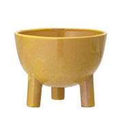 Bloomingville Flowerpot, Yellow, Stoneware