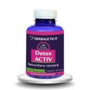 Detox activ 120cps HERBAGETICA