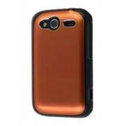HTC Wildfire S Brushed Aluminium Case - HTC Hard Case (Bronze)