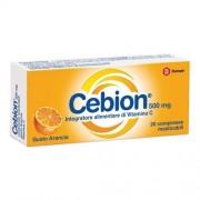 Dompe' Farmaceutici Spa Cebion Masticabile Arancia Vitamina C 20 Compresse