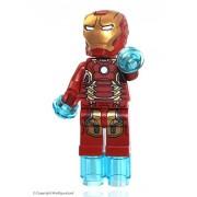 Generic Lego Marvel Super Heroes Iron Man Mark 43 Minifigure 2015