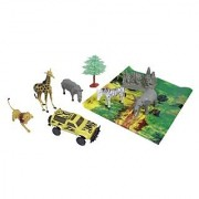 Wild Republic Bucket Zoo Animal Set