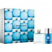 Azzaro Chrome lote de regalo I. eau de toilette 50 ml + deo barra 75 ml