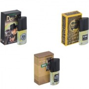 Skyedventures Set of 3 Devdas-Kabra Yellow-The Boss Perfume