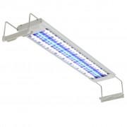 vidaXL Lampă LED de acvariu aluminiu 50-60 cm IP67