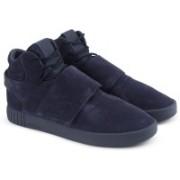 ADIDAS ORIGINALS TUBULAR INVADER STRAP Sneakers For Men(Blue)