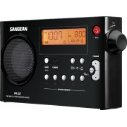 PR-D7 B Táskarádió AMFM akkumulátor töltéssel fekete