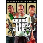 Rockstar Games Grand Theft Auto V: Premium Online Edition Rockstar Social Club Key GLOBAL
