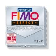 Gyurma, 56 g, égethető, FIMO Effect, csillámos ezüst (FM8020812)