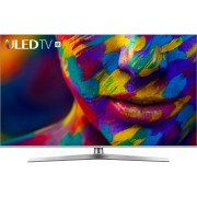 Televizor LED Hisense H50U7B, 126 cm, 4K, Procesor quad core, Dolby Atmos, Smart TV, Wi-Fi, Bluetooth, CI+, Clasa A, Negru/Argintiu