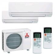 Mitsubishi Electric Climatizzatore Dual Mxz-2dm40va + Msz-Dm25va + Msz-Dm35va Inverter P/c 9+12