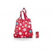 Чанта за пазар 'Фънки точки в червено' Reisenthel Mini Maxi Shopper funky dots 2