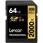 Lexar 2000X 64 GB SDHC Class 10 300 MB/s Memory Card