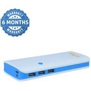 Hobins P3 fast charging 20000 mah power bank (white blue)