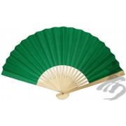 Green Paper Hand Fan