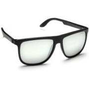 Carrera Wayfarer Sunglasses(Grey, Silver)