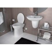 SaniCOMPACT C43 Dual Flush - vas WC cu sistem de tocare-pompare integrat