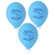 Baloane Albastre Botez