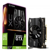 VGA EVGA GTX 1660 Ti XC GAMING, nVidia GeForce GTX 1660 Ti, 6GB, do 1845MHz, 36mj (06G-P4-1263-KR)