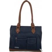 FD Fashion Women Messenger Bag(Blue, Brown)