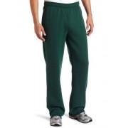 SOFFE Pantalón de Forro Polar, Verde Oscuro, Small
