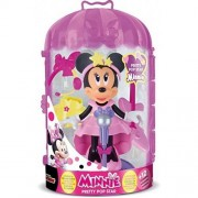 Papusa IMC Mickey and the Roadster Racers Minnie cu accesorii pop star