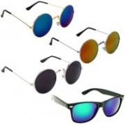 Vitoria Wayfarer, Round Sunglasses(Multicolor)
