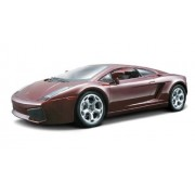 Bburago 2011 Bijoux 1:24 Scale Metallic Dark Red Lamborghini Gallardo