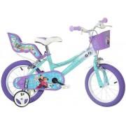 """Bicicleta copii Dino Bikes, Roti 14"""", FROZEN"""