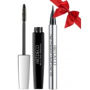 Artdeco Pachet Promotional (Mascara All In One Black + Tus Ochi High Precision Liquid Liner 03 Brown)