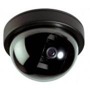 Atrapa bezpečnostné cctv kamery könig v kopulovitý dome prevedení, vhodná pre vn