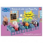 Bandai Peppa Pig - Playset Vamos al Cole