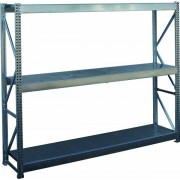 Widmer Weitspannregale verzinkt Grundregal 2000 Höhe 2000 mm 1000 mm Nein - Widmer